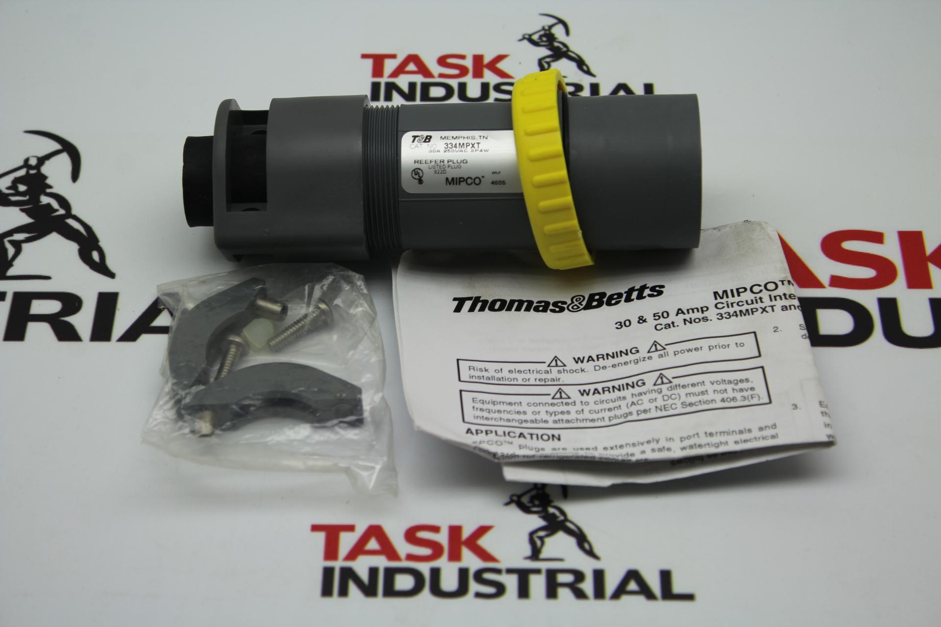 Thomas & Betts 334MPXT 30A Plug