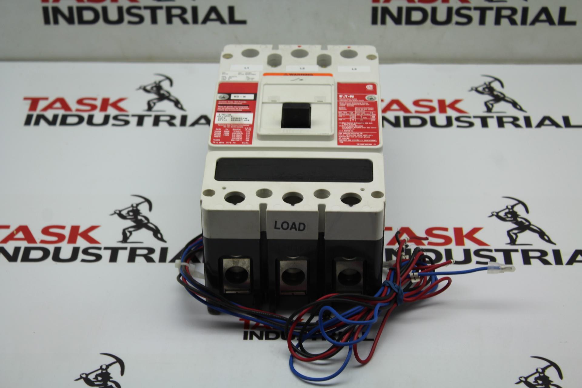 Eaton KD-N Circuit Breaker 3 Poles 650/250 KD3400NW