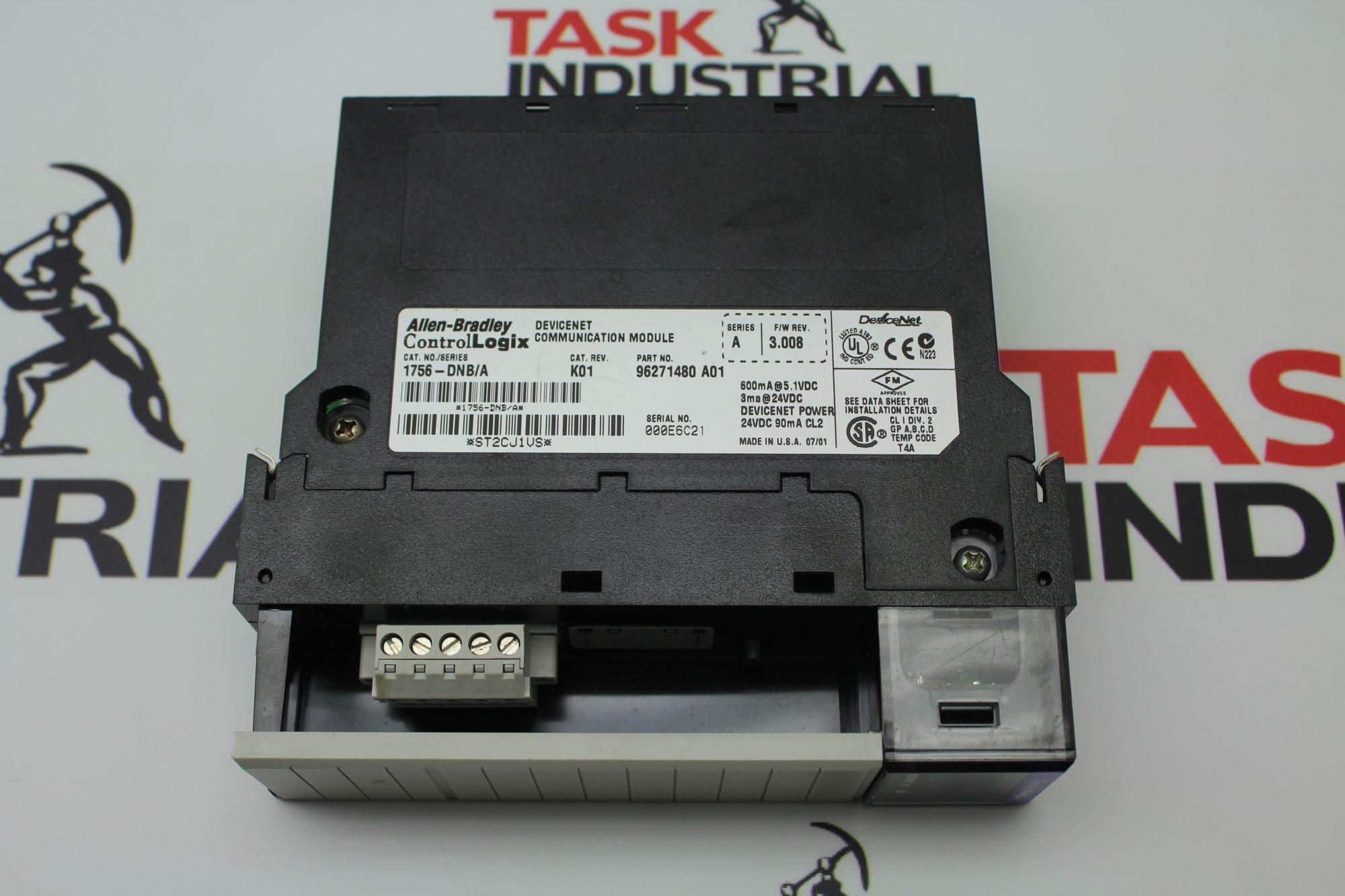 Allen Bradley ControlLogix 1756-DNB A Ethernet Communication Module FW 3 008