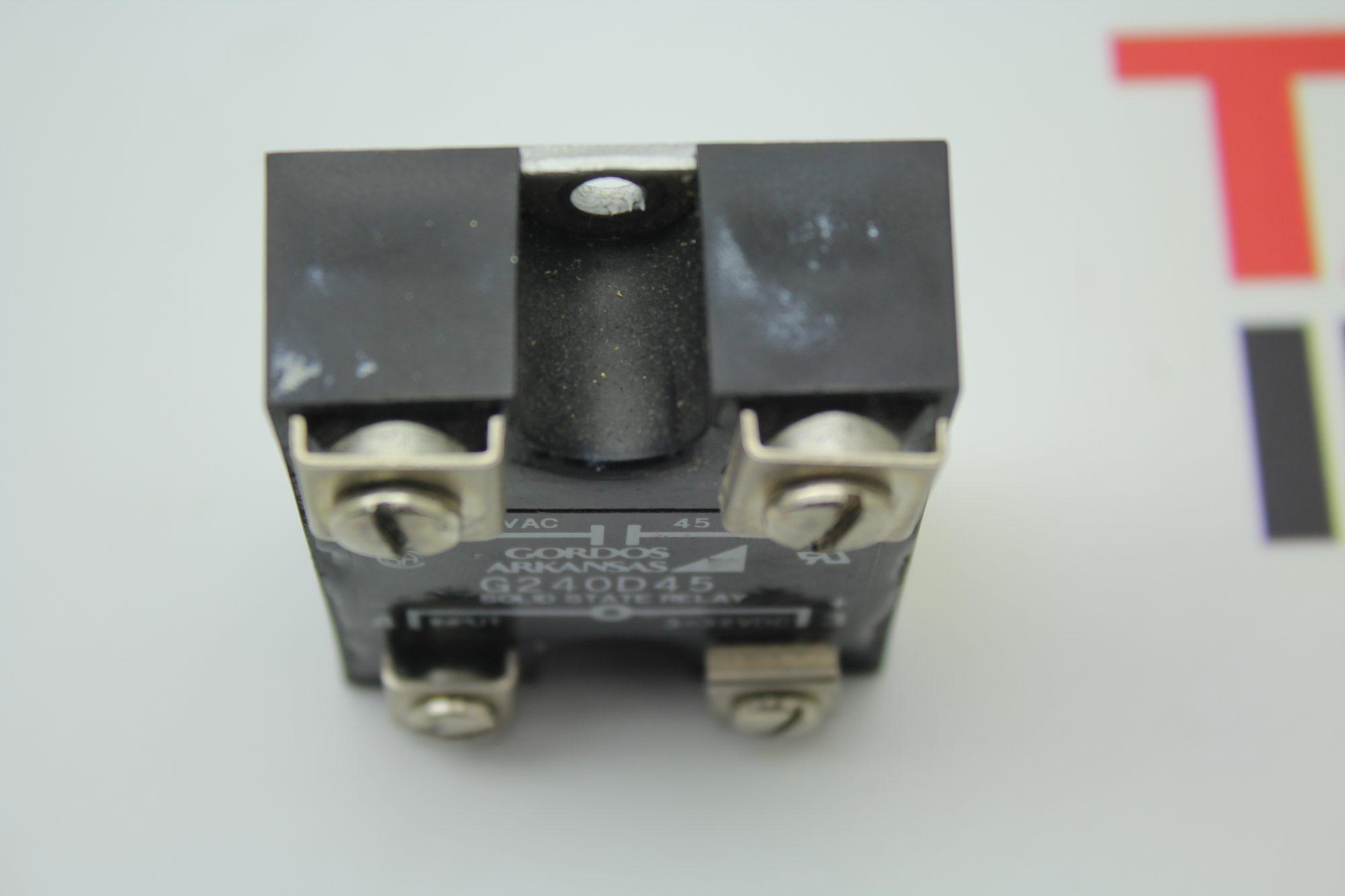 Gordos G240d45 Solid State Relay 240vac 45 Amp 3 32vdc 240v Ac