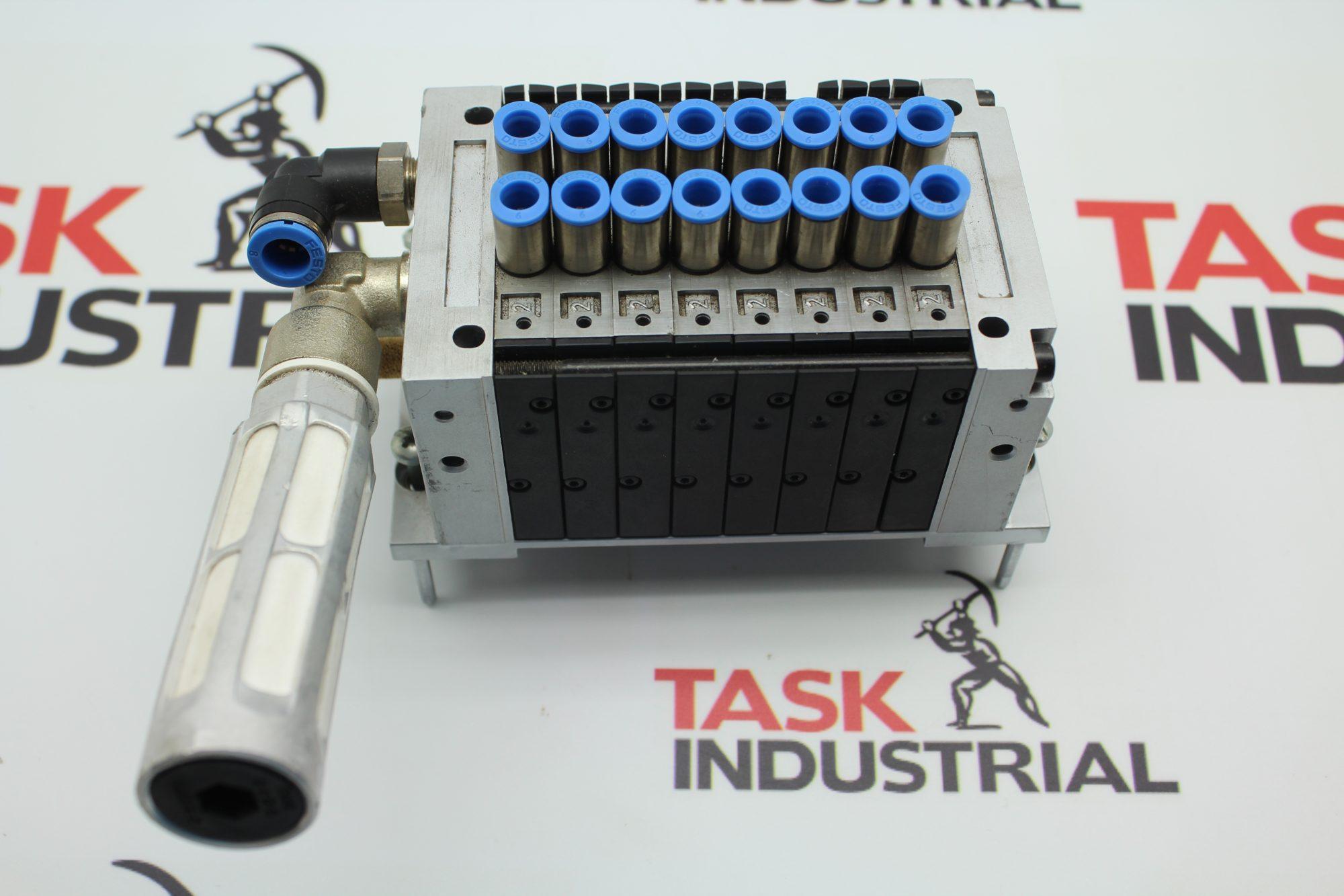 Siemens Simatic  6ES7 148-4EA00-0AA0 Pneumatic Interface /& Festo CPV10 Valve