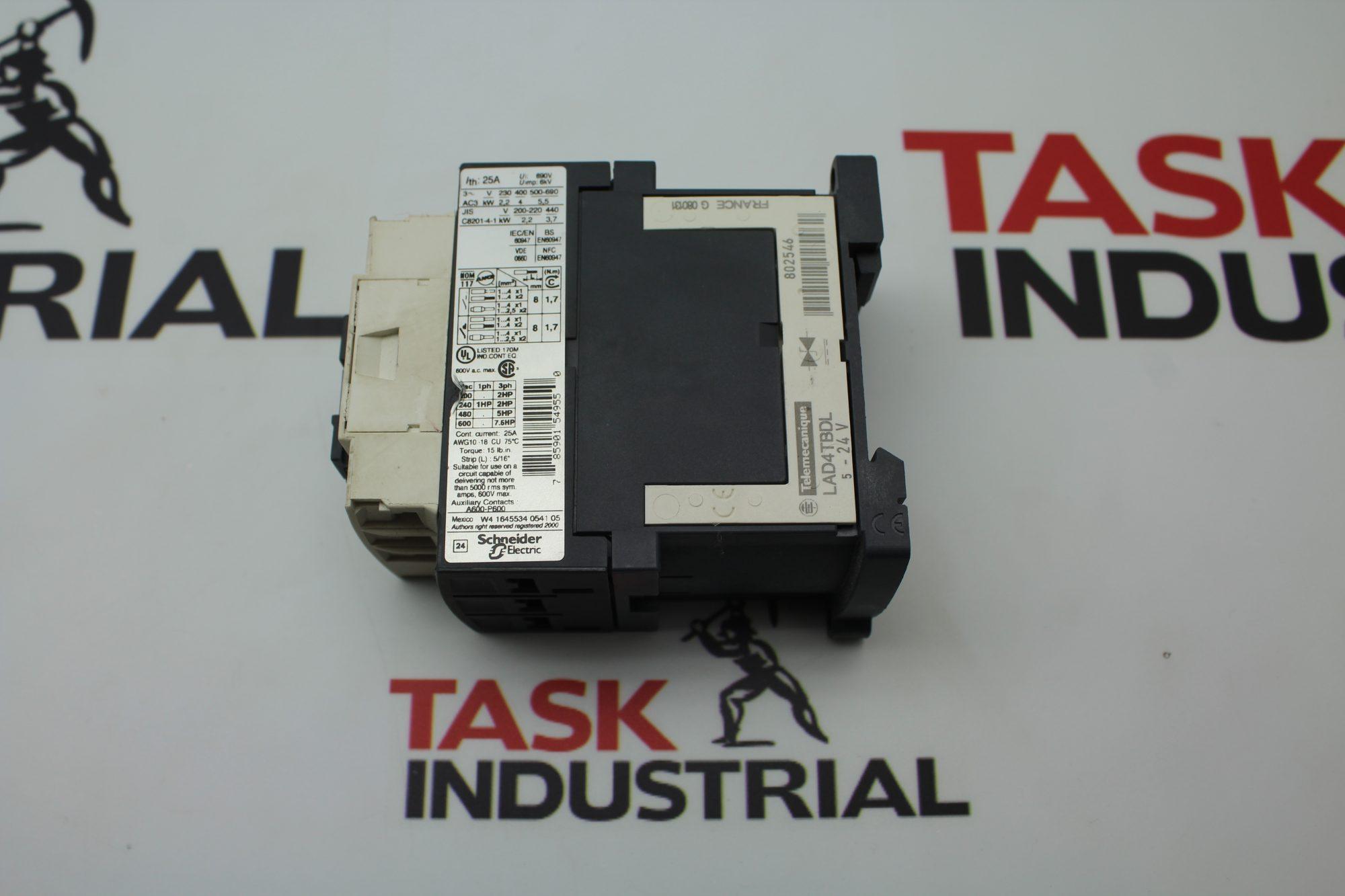Telemecanique LC1 D09 Contactor (Lot of 2)