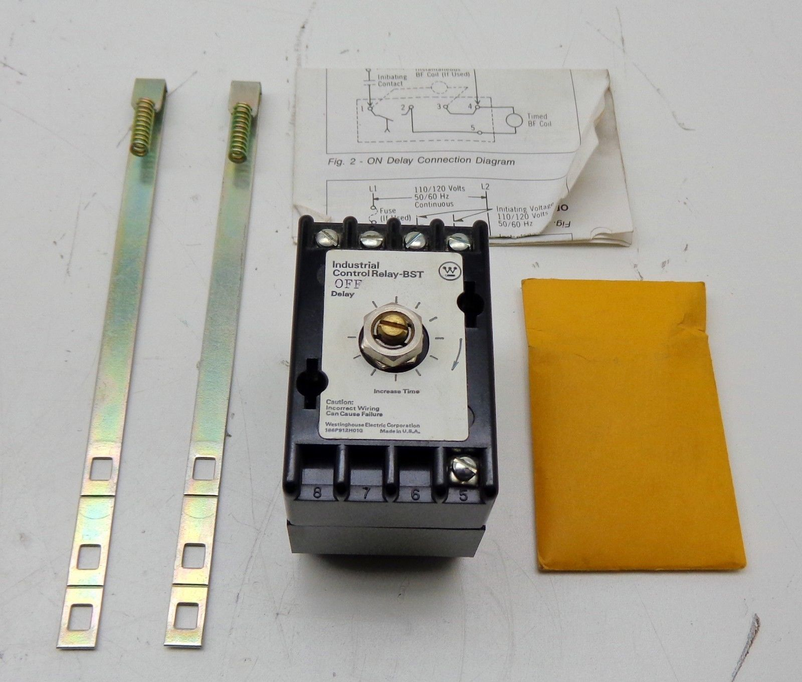 Westinghouse Bst Of Solid State Timer Off Delay Time Relay Wiring Diagram