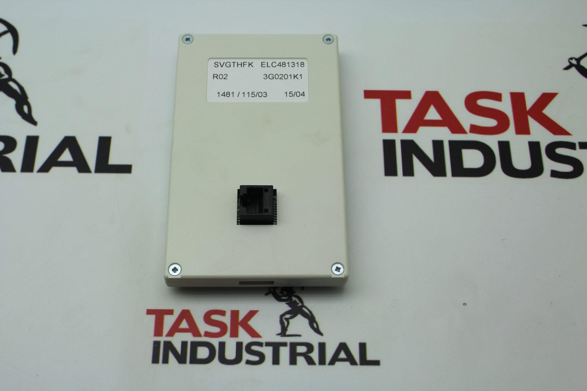 ASI Robicon SVGTHFK ELC481318 Remote Control Operator Keypad