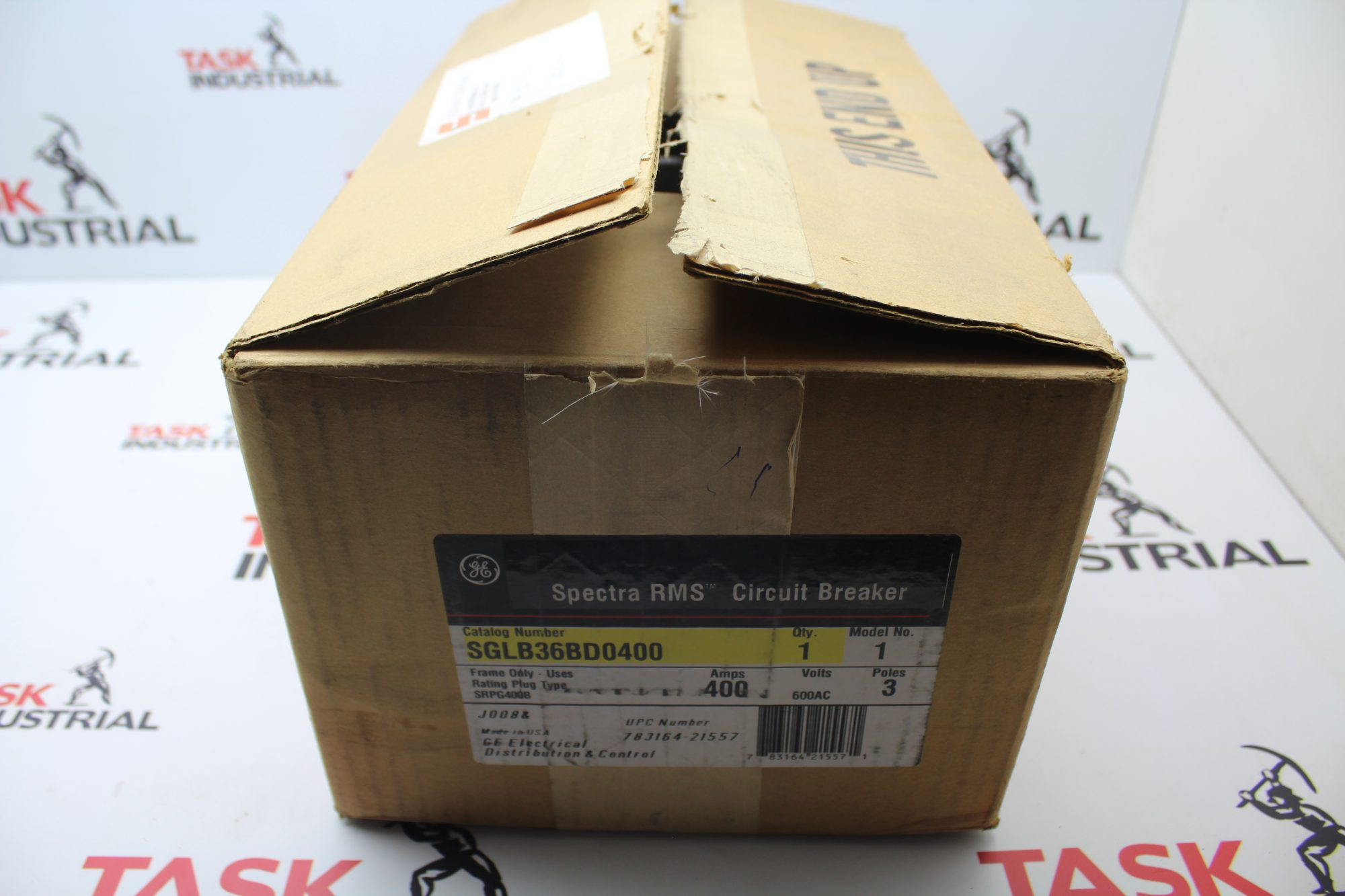 Ge Spectra Rms Current Limiting Circuit Breaker Solb36cd0400 400 Amp 600vac Max 3 Pole