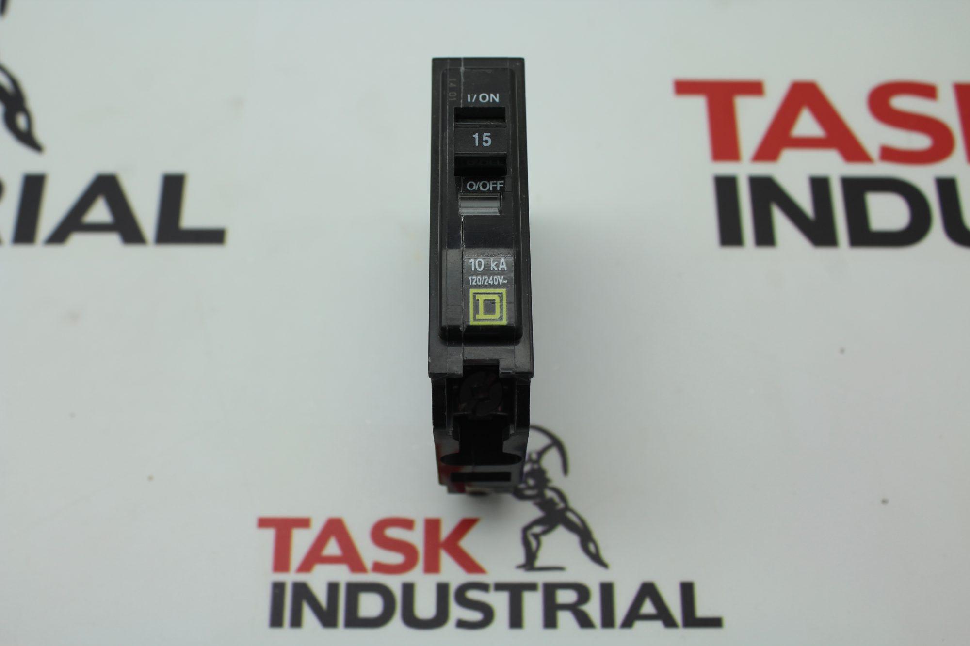 Square D 10Ka 15AMP 1 Pole Circuit Breaker