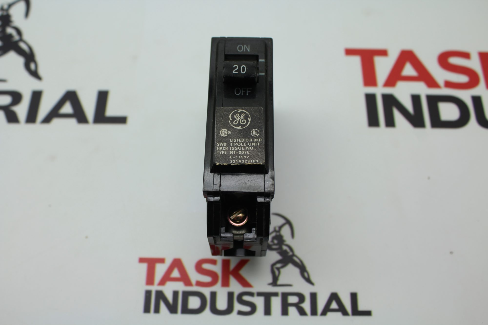 GE RT-2076 20AMP 1 Pole Circuit Breaker