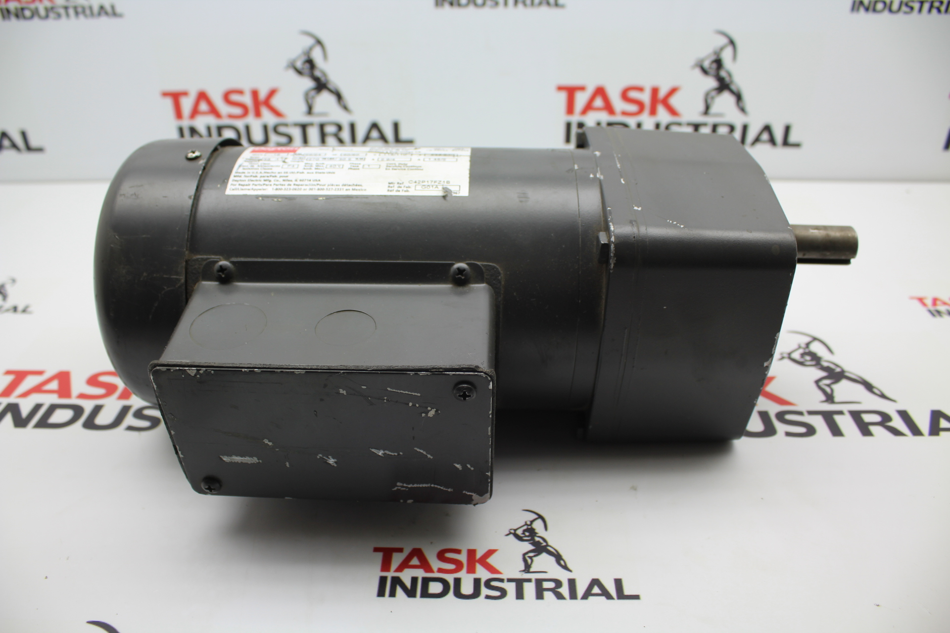 Dayton AC Gearmotor .16 HP, 29/24 RPM, 115/110 VOLT, 1 PH, 6MK74
