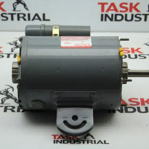 Dayton Fan Motor Model 3M505B, 1/2 HP, 1075/2SPD RPM, 48Y FRAME, 1 PH, Motor