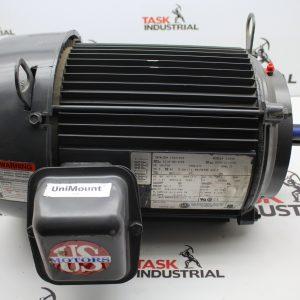 US Motors Model B104B 5 HP, 1745 RPM, 184TCH FRAME, 3 PH, Motor