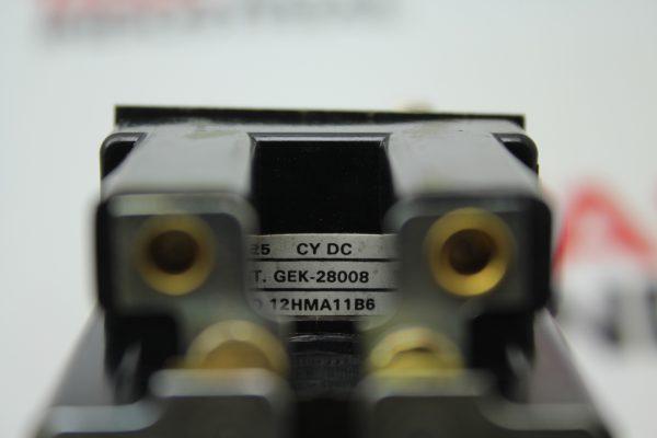 12HMA11B6 CY DC GEK-28008