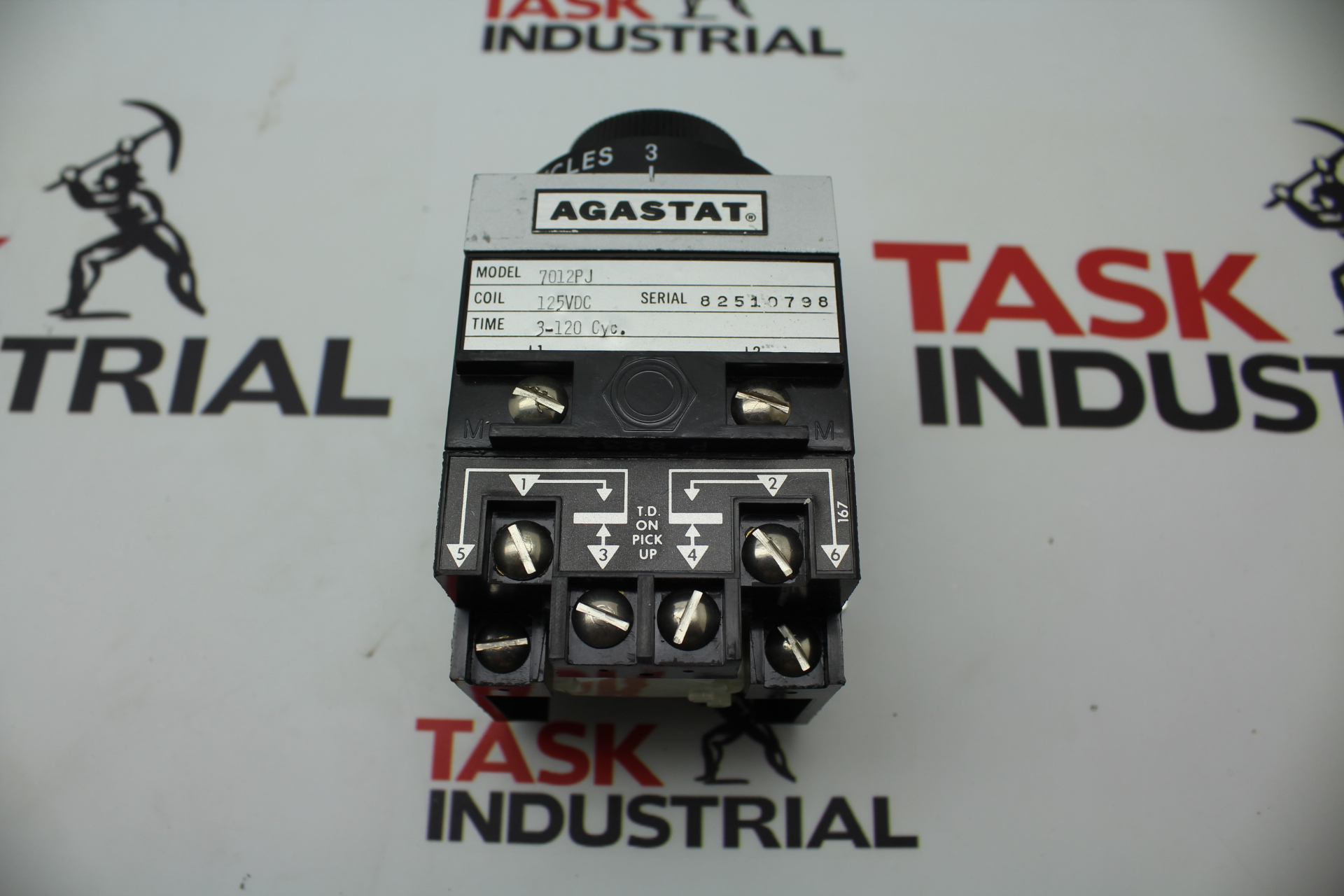 Agastat 7012PJ Time Delay Relay 82510798