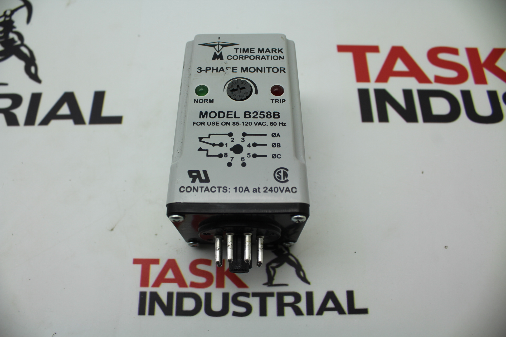 Time Mark 3-Phase Monitor Model B258B