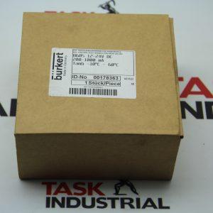 Burkert 8605 12-24V DC 00178363 - Sealed