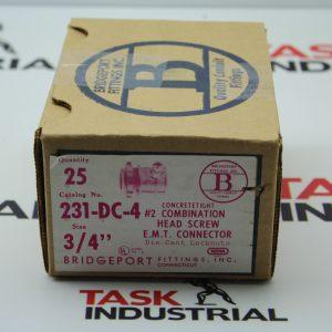 "Bridgeport Fittings 231-DC-4 3/4"" (Box of 25)"