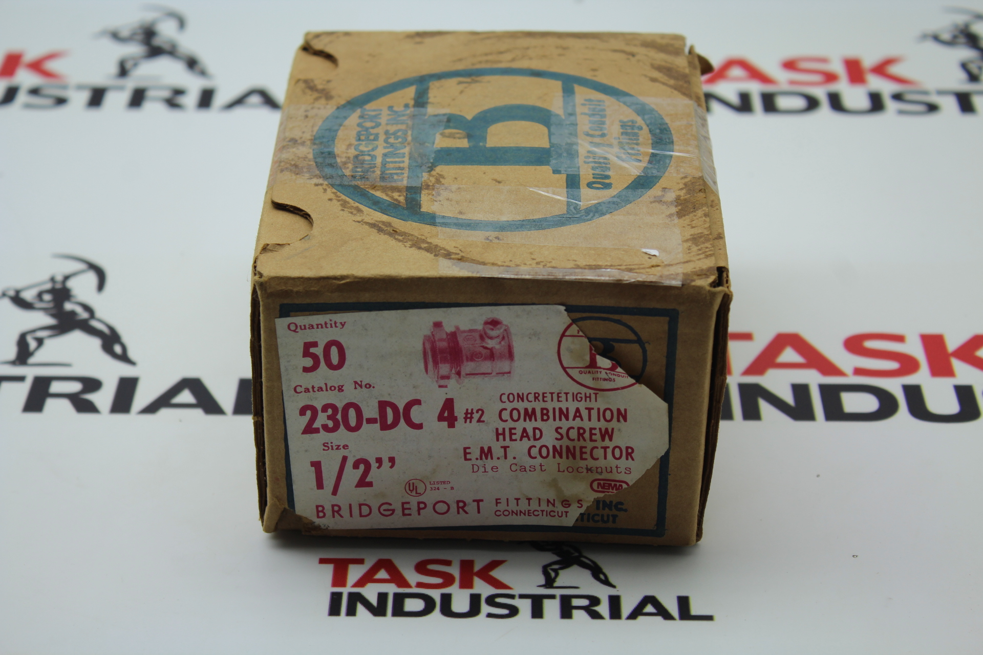 """Bridgeport Fittings Concrete Tight E.M.T. Connector Cat No 230-DC-4 1/2"""""""