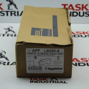 "Appleton Form 85 Aluminum Conduit Body Qty 1 Size 2"" LB200-A APP"