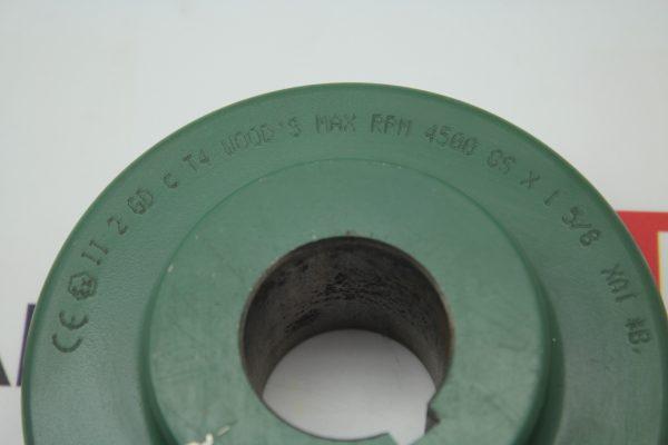 TB Wood's Max RPM 4500 8S X 1 5/8 XAI *B Flange