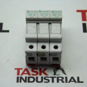 Littelfuse Powr-Safe 600V 30A LPSC Series No. LPSC Class CC Fuse Holder