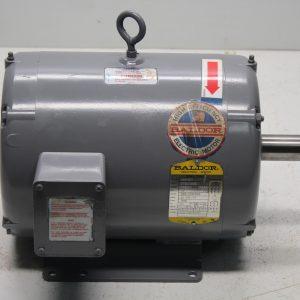 Baldor Motor M3313T, 3PH, 10 HP, 215T Frame, 1725 RPM, Volts 208-230/460