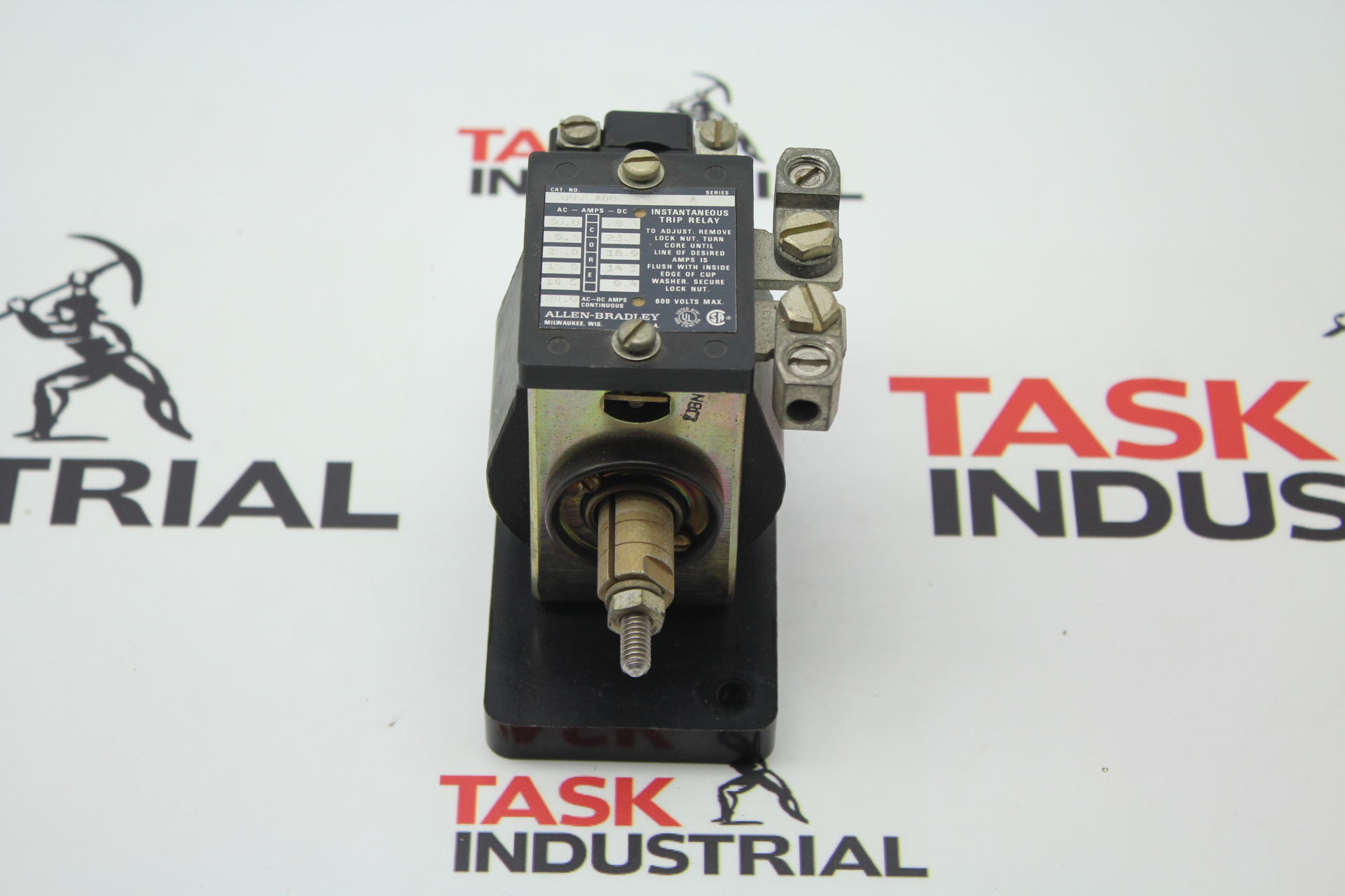 Allen-Bradley CAT NO 809-A08E Series A Instantaneous Trip Relay