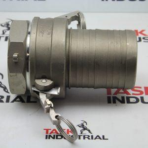 PT 316SS Cam Lock Coupling 40C