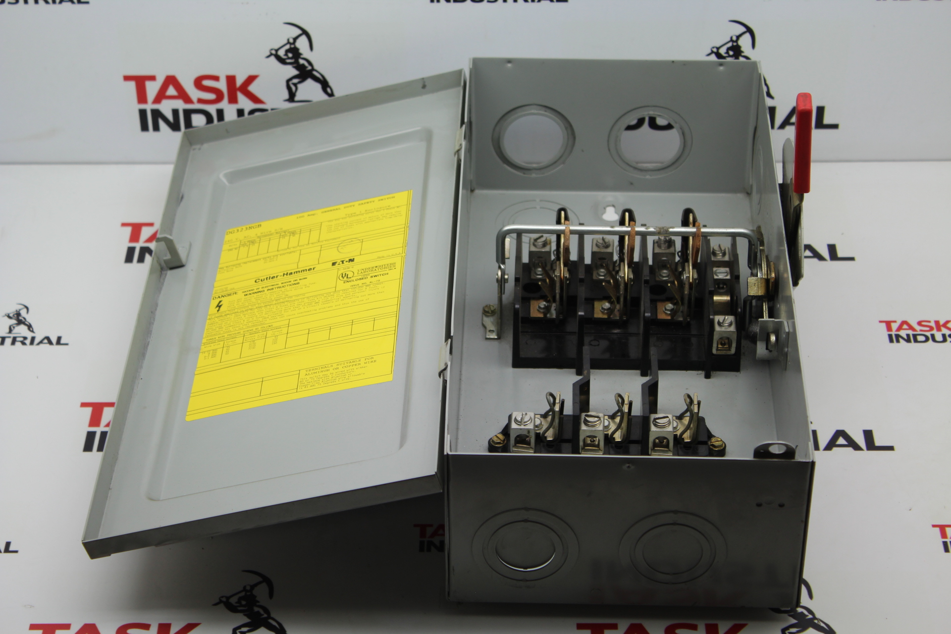 Cutler Hammer Dg323ngb Disconnect Switch Task Surplus Fuse Box