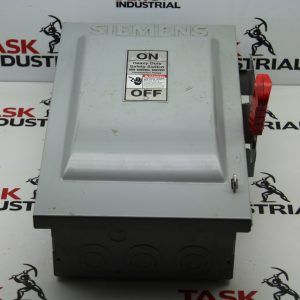 Siemens Cat. No. HF362 Fusible Heavy Duty Safety Switch