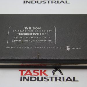 "Wilson ""ROCKWELL"" Test Block Calibration Set"