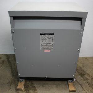 MGM Transformer Company CAT. NO. AD370-J1144 75KVA DRY TYPE TRANSFORMER