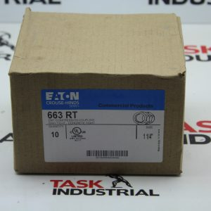"Eaton Crouse-Hinds Series 663 RT Size 1-1/4"" Box of 10"
