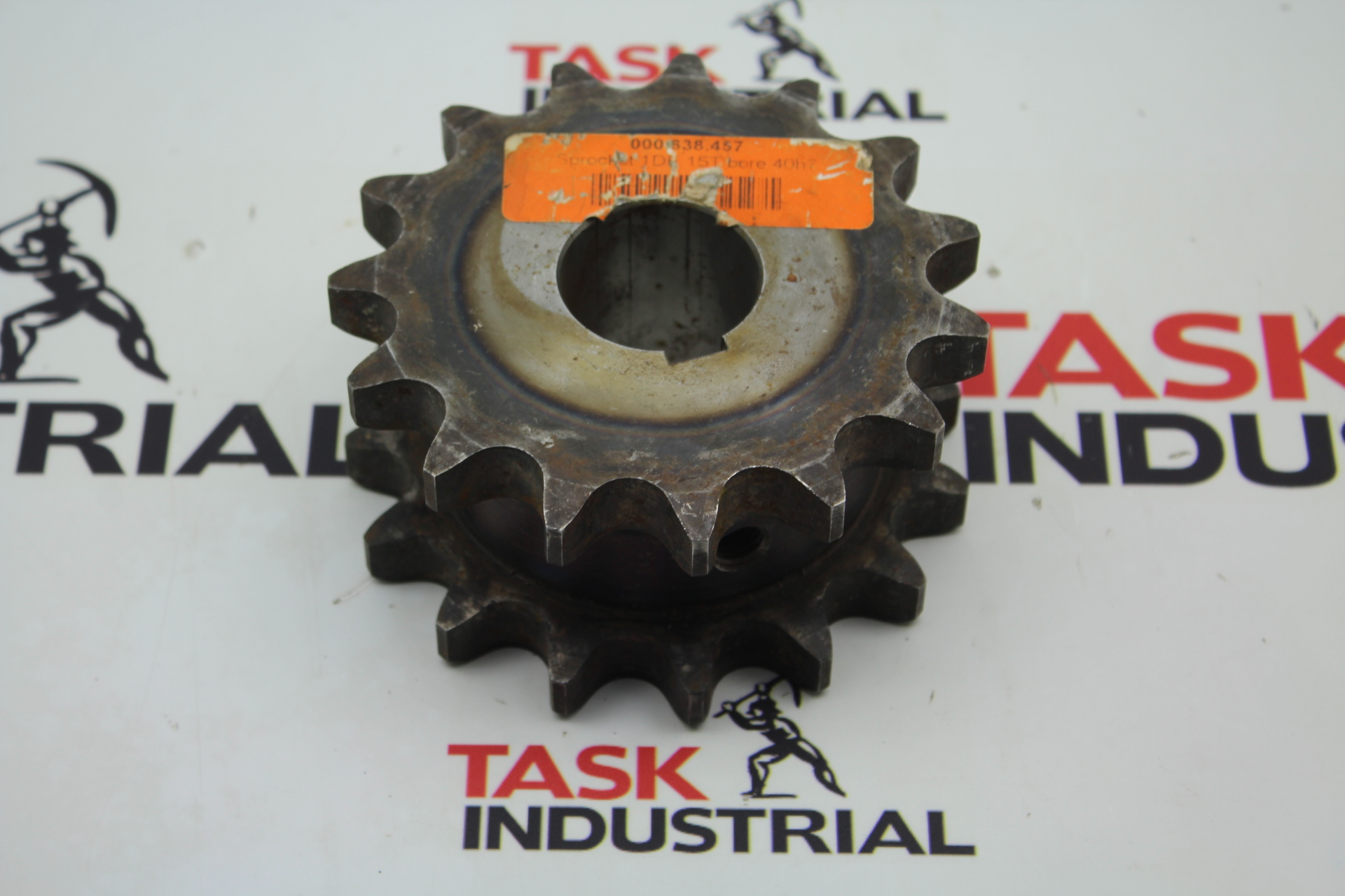Sprocket 1DE 15T bore 40h7 000.638.457