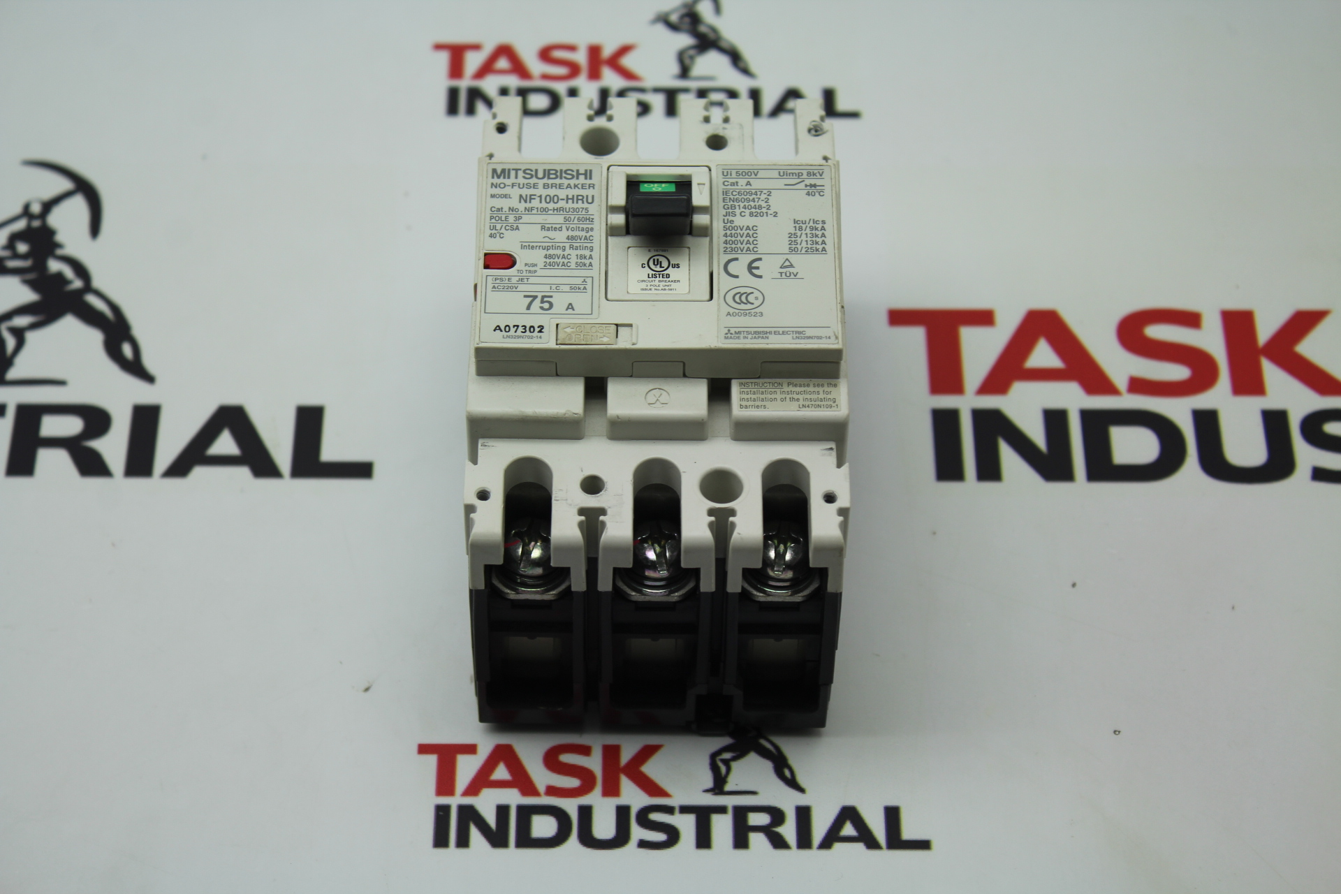 No Fuse Breaker Mitsubishi Car Cs 2p 5a Circuit 5 Amp Nf30 Ebay Nf Source 75amp Archives Task Surplus