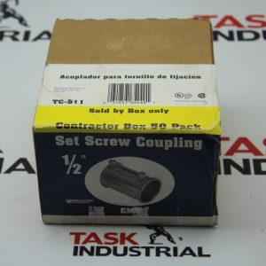 "Sigma Electric Set Screw Coupling 1/2"" TC-511 Box of 50"