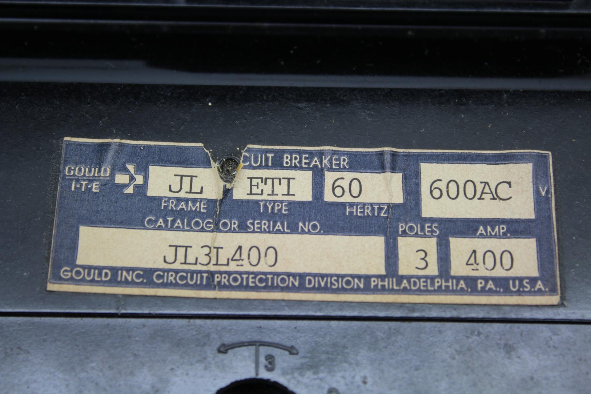 Gould I T E Jl3l400a 3 Pole Circuit Breaker Details About Siemens 5sx21 C5 230 400v 5 Amp