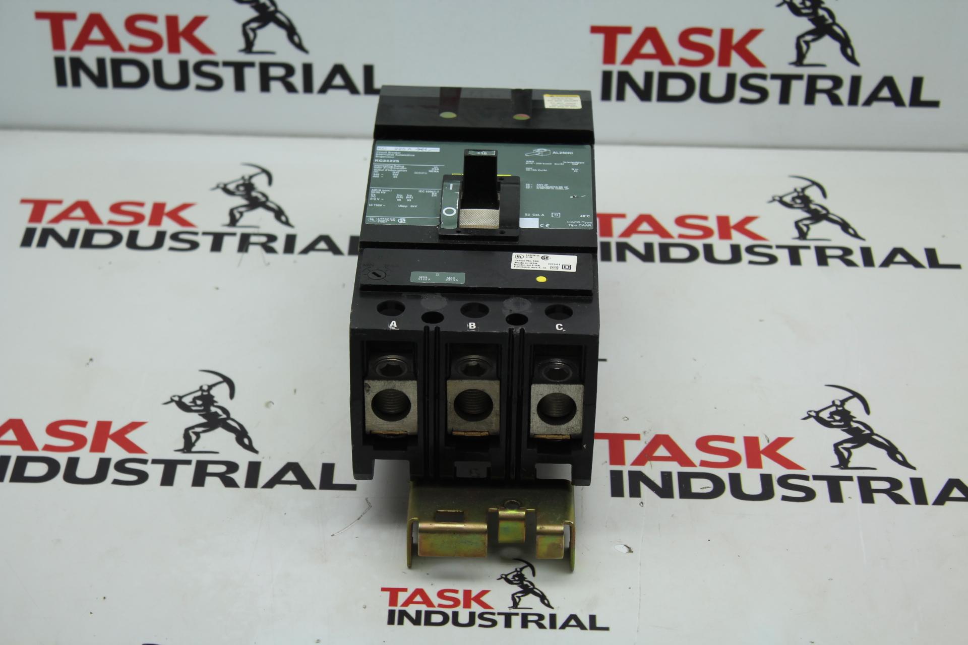 Square D KC34225 Circuit Breaker 225A