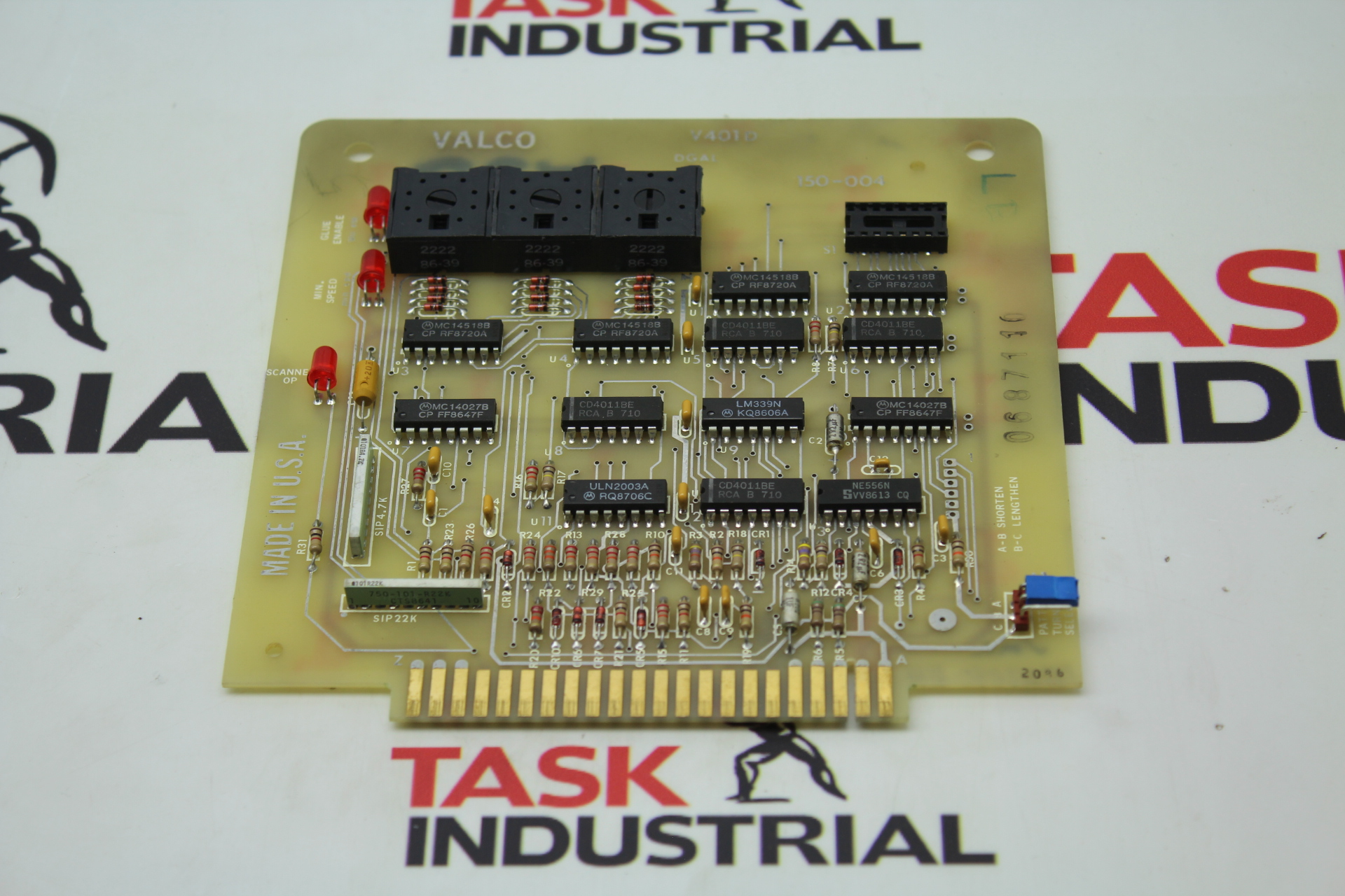 Valco V401D Circuit Board