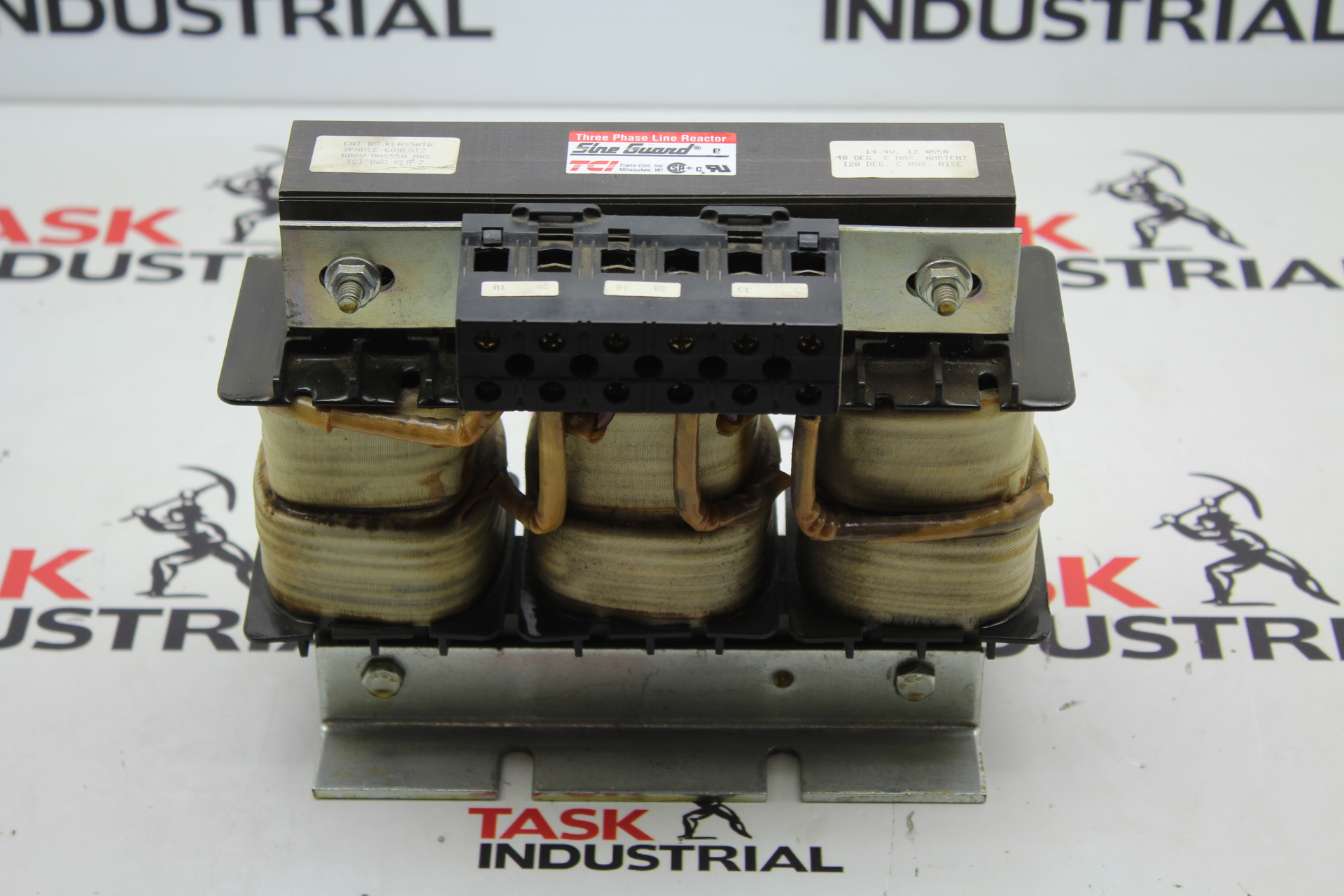 TCI KLR55ATB Transformer 3 Phase 60 Hz 600V Broken Corner
