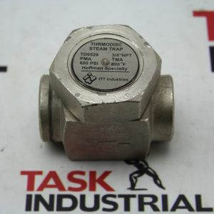 ITT Industries Thrmodisc Steam Trap TD6526 PMA 600 PSI