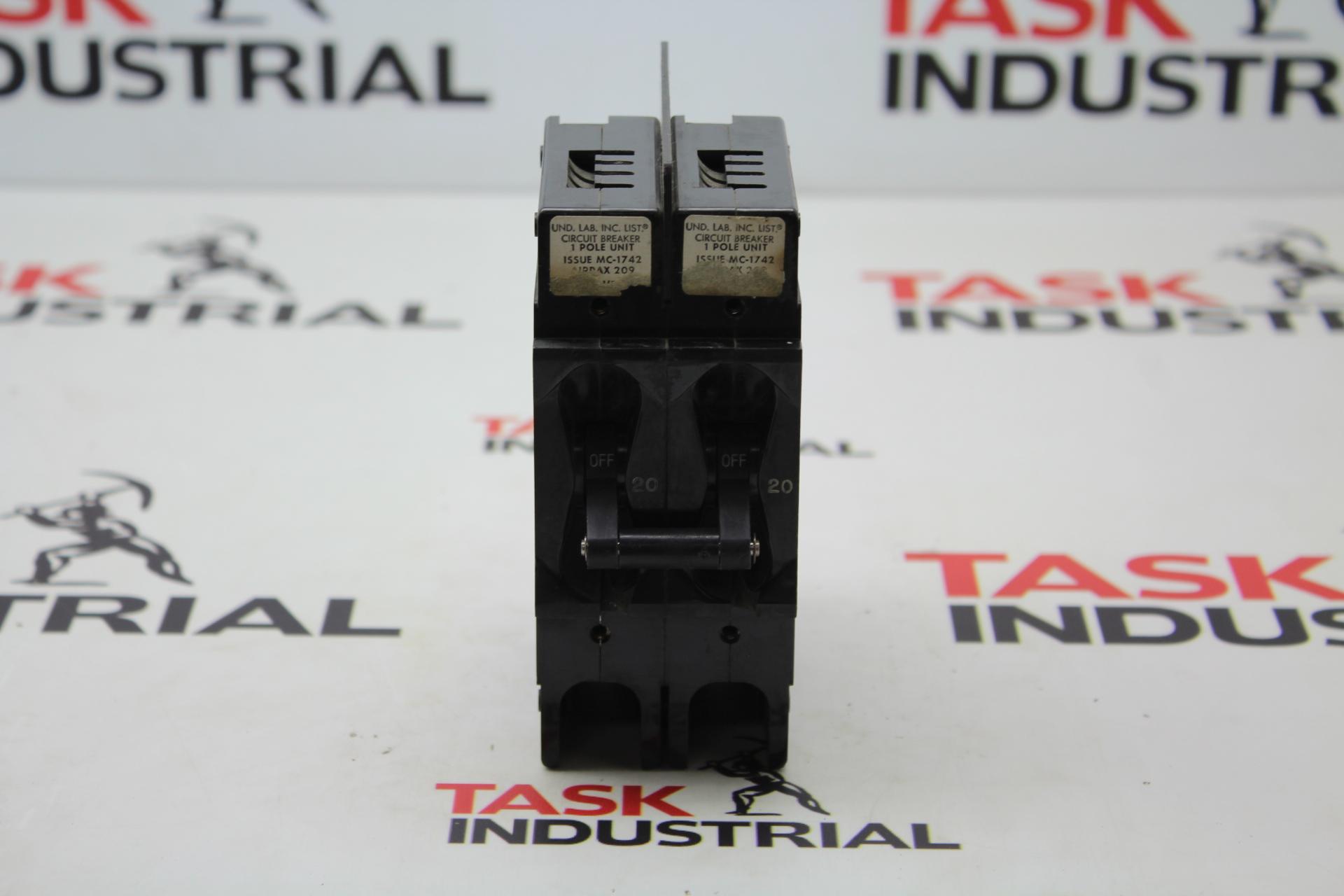 UND. LAB. Circuit Breaker Issue MC-1742
