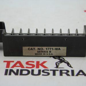Allen-Bradley CAT NO. 1771-WA Swing Arm Terminal