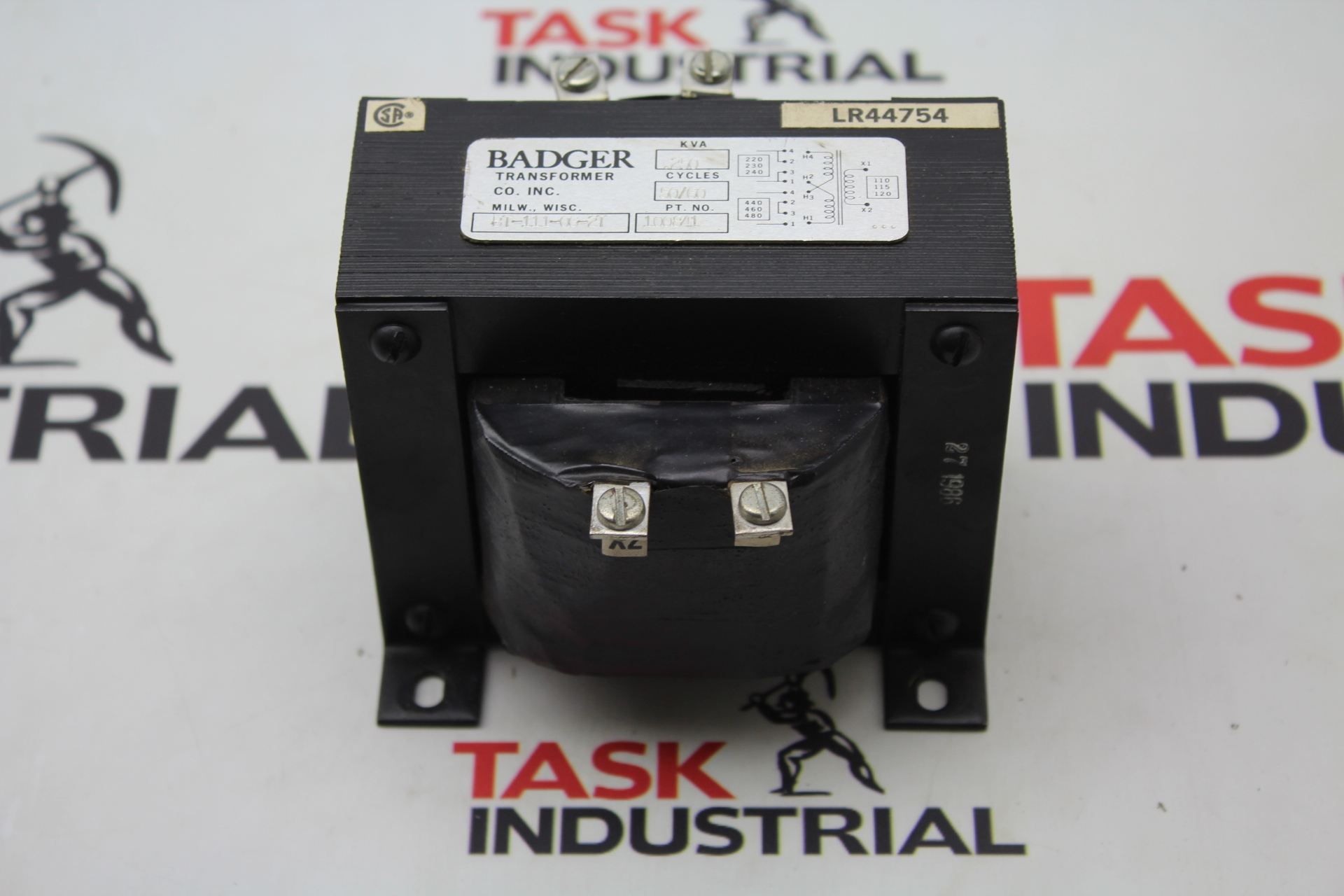 Badger Transformer BT-111-06-2T 250 KVA 50/60 Cycles 100841 Pt. NO