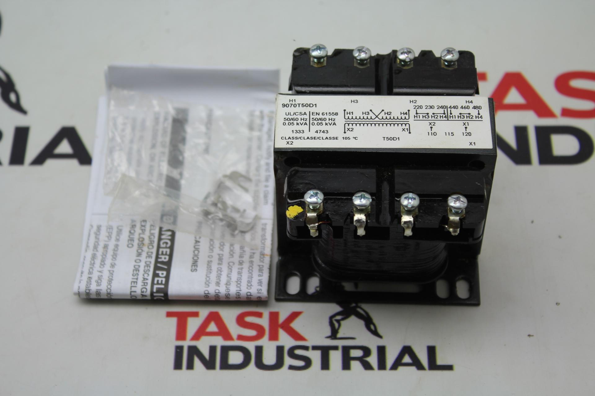 Square D Control Transformer 240/480V 9070T50D1