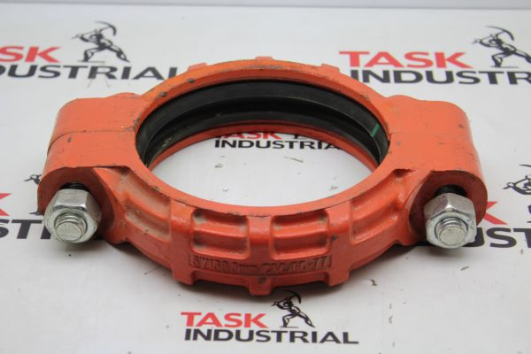 """6""""/168.3mm/C&C/GC-77 Flexible Grooved Pipe Coupling w/Gasket"""
