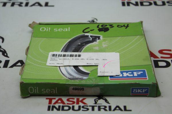 SKF C10304 Seal, Nitrile, 6.250 OD, 5.000 ID, .500 Width