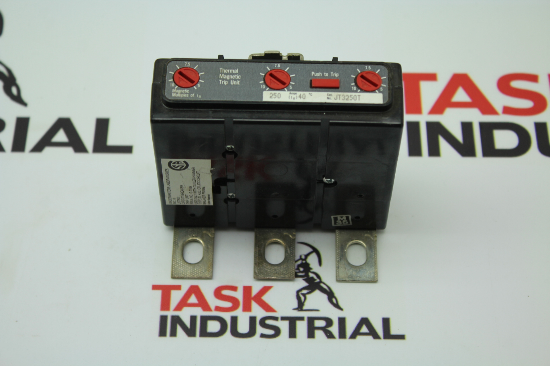 Cutler-Hammer Underwriters Laboratories Thermal Magnetic Trip Unit JT3250T
