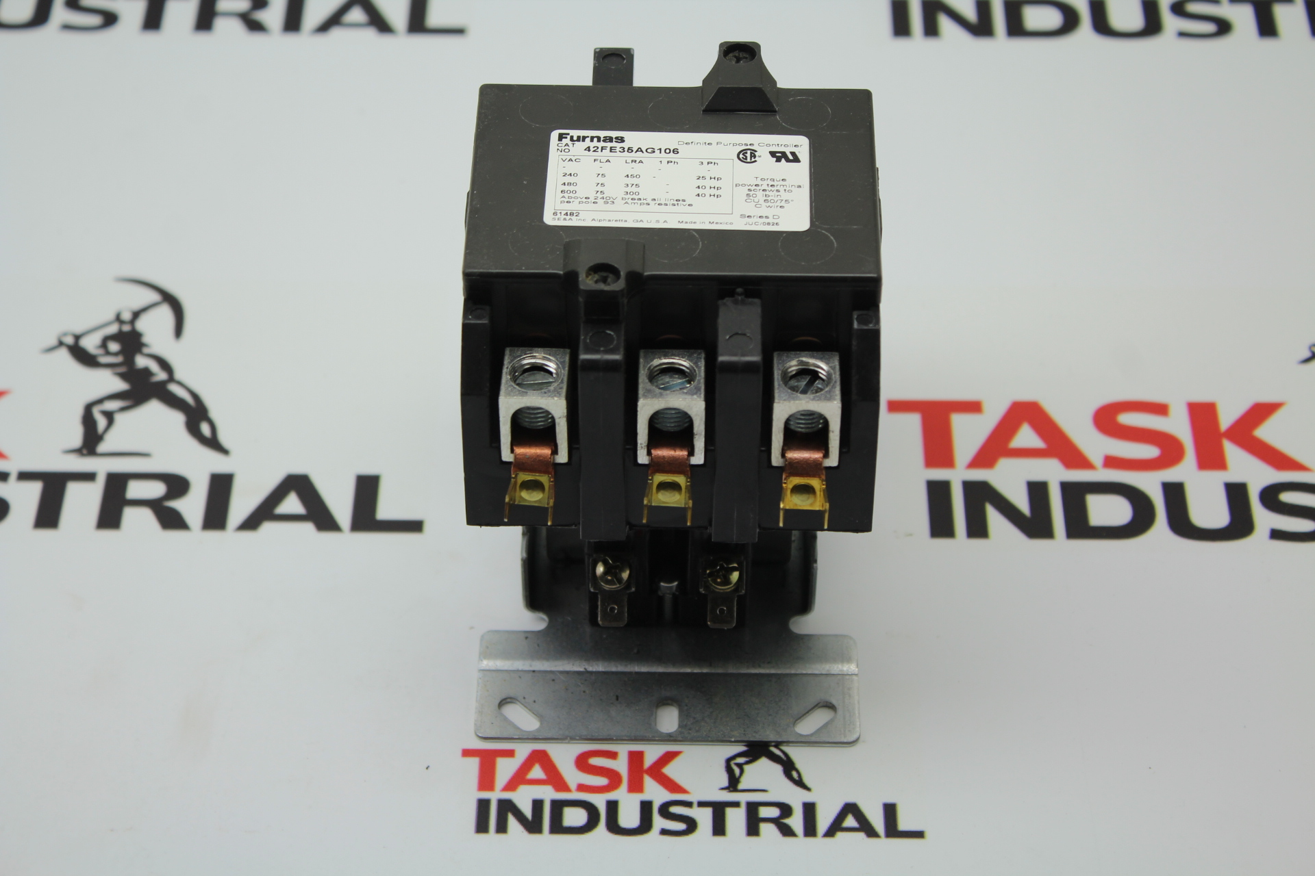 Furnas Definite Purpose Magnetic Contactor 42FE35AG106 3 Pole