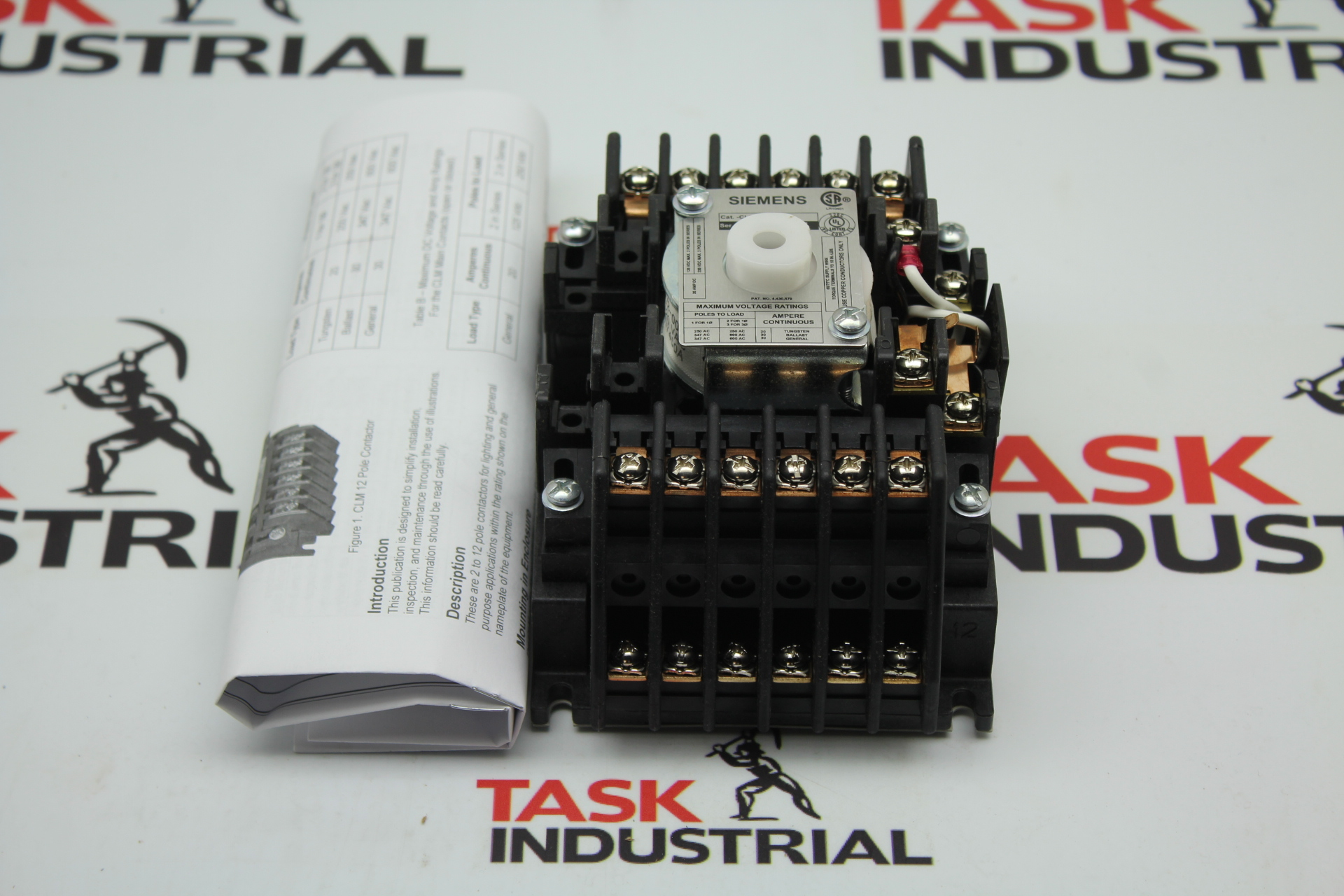 Siemens CAT. NO. CLM122031 Lighting Contactor 20AMP