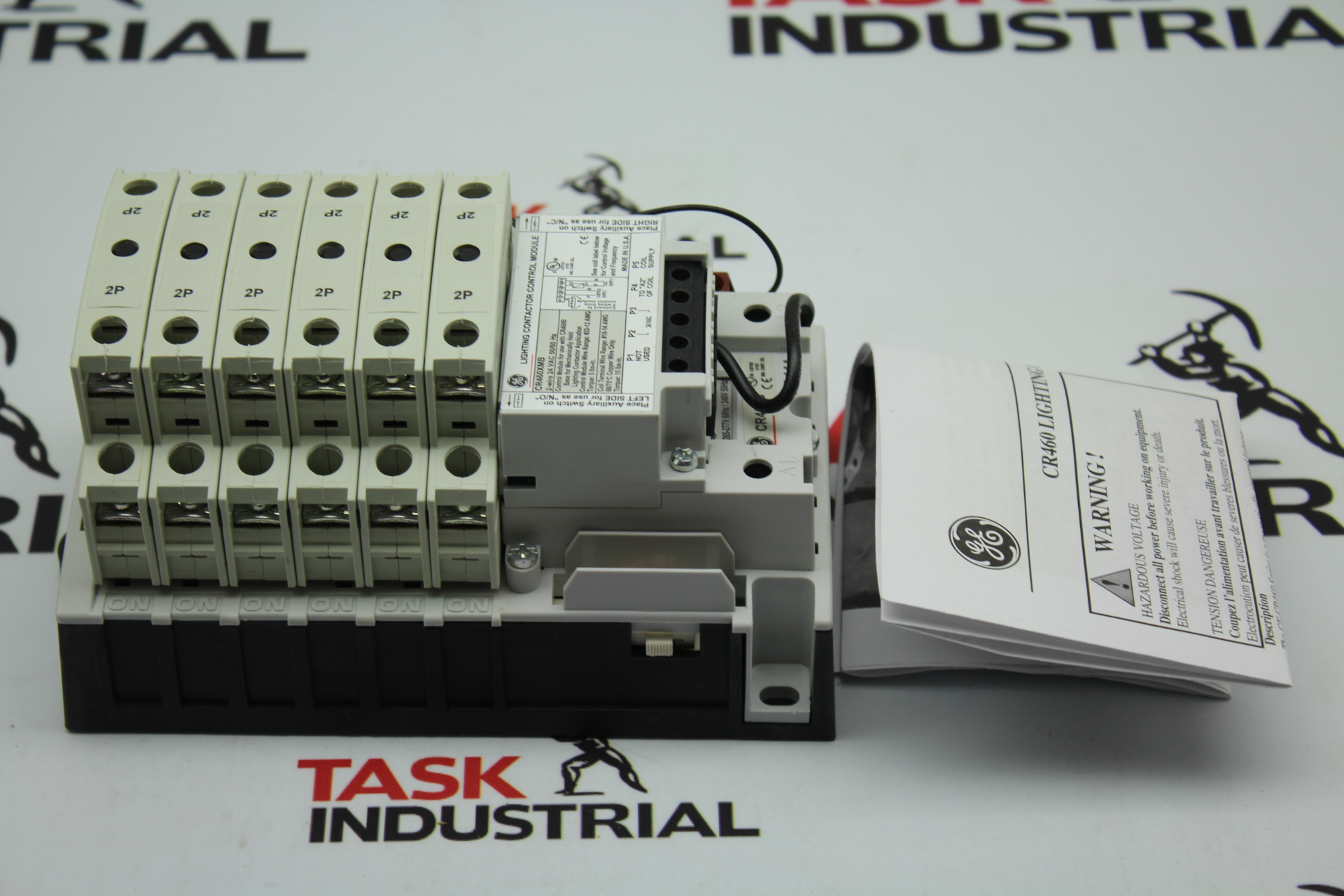 GE Lighting Contactor Mechanically Held 463MD0BNA 30 AMP