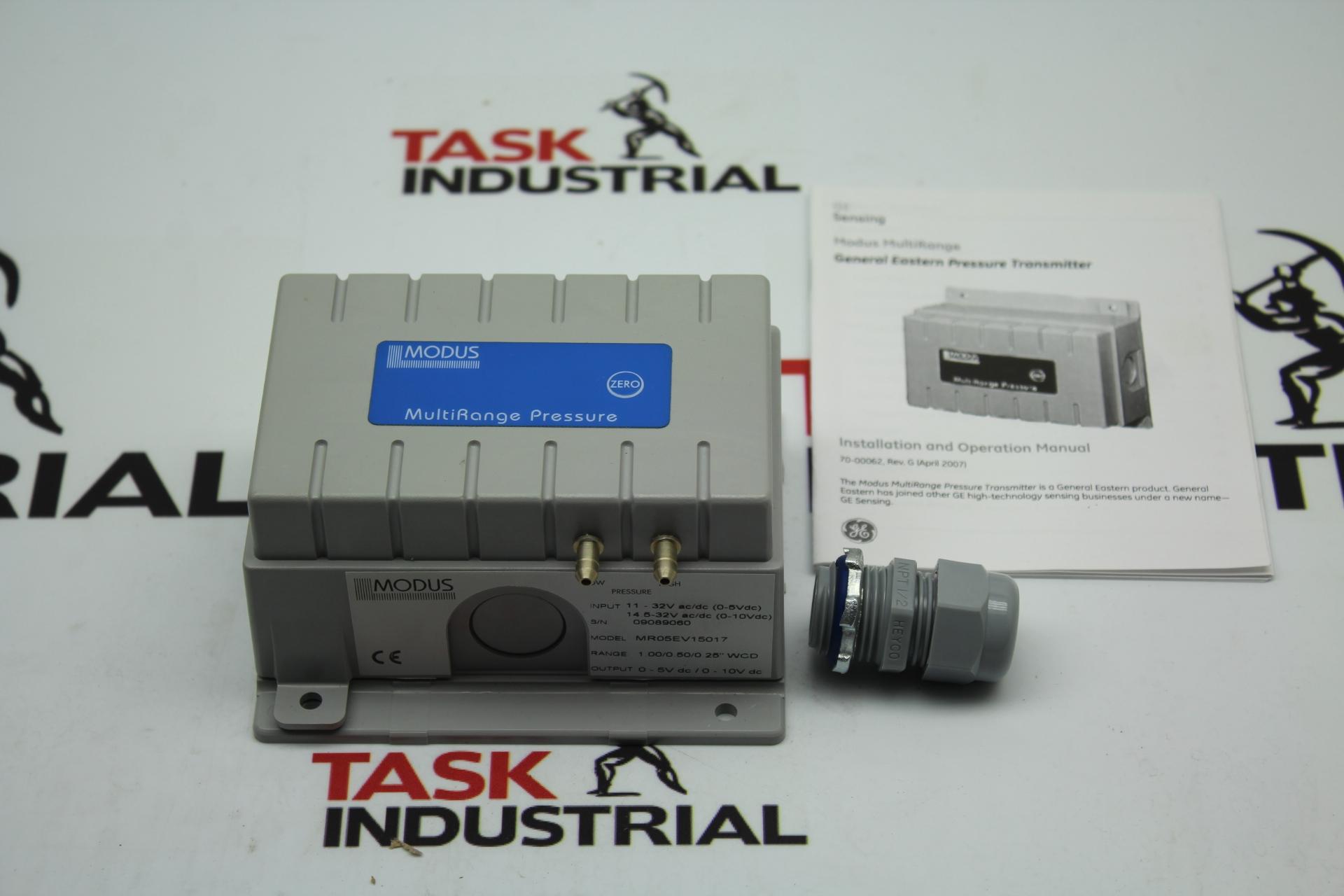 GE Sensing MR05EV15017 Pressure Transmitter